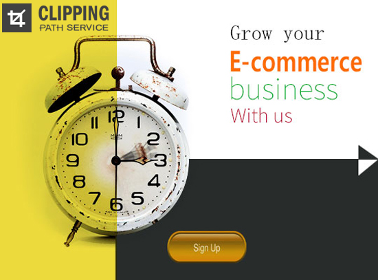 Past and Future of eCommerce Business with a Clock