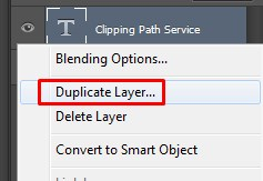 making a duplicate layer to the existing one