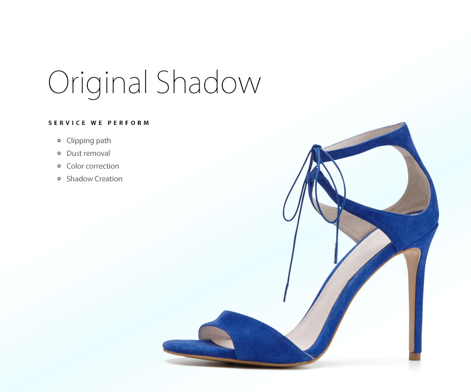 ladies blue velvet heels with original shadow