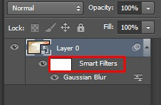 Smart Filters Layer appears on Photoshop