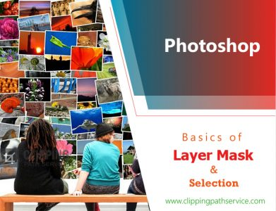 Basic of layer mask and Selection logo