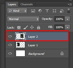 Selecting the Right side man man sitting Layer in Photoshop
