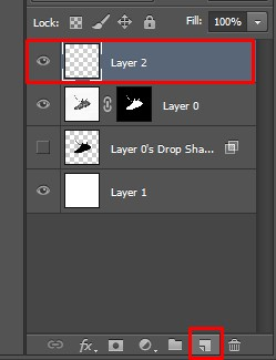 Create a New Layer icon