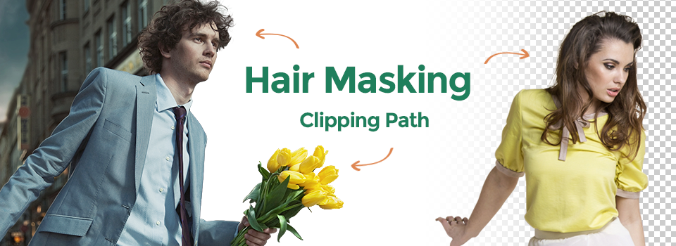 men and women image hair masking